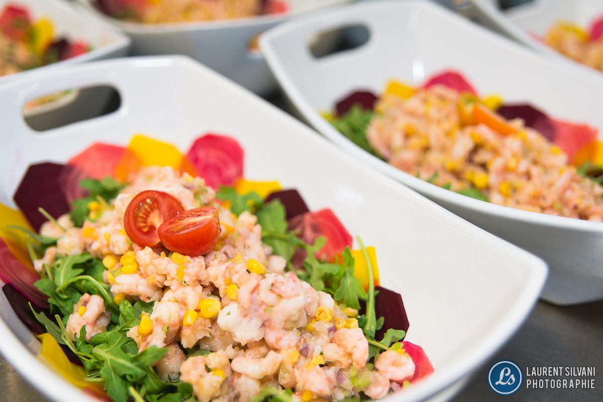 Repas au Festi-Bouffe à Petit-Saguenay
