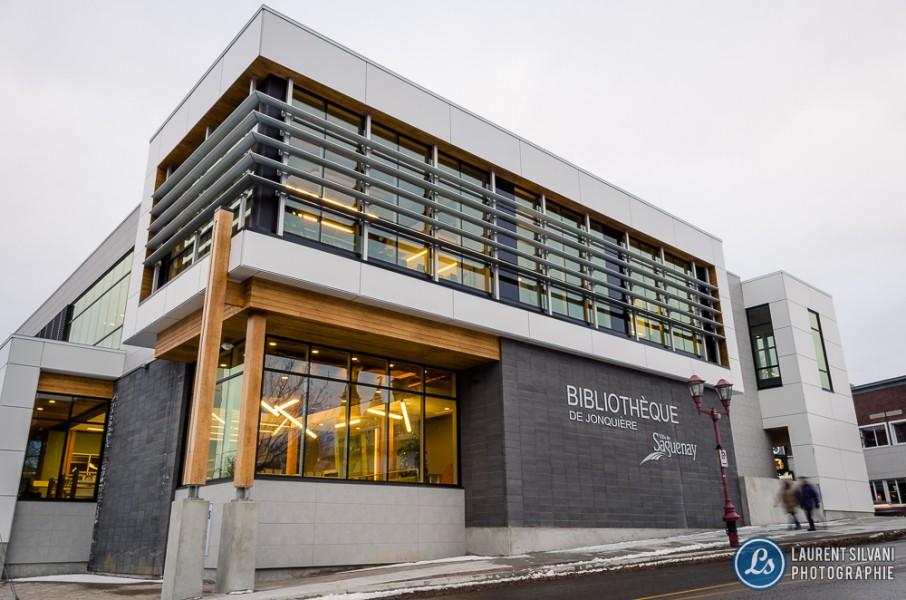 Bibliothèque de Jonquière - Architecture / immobilier au Saguenay