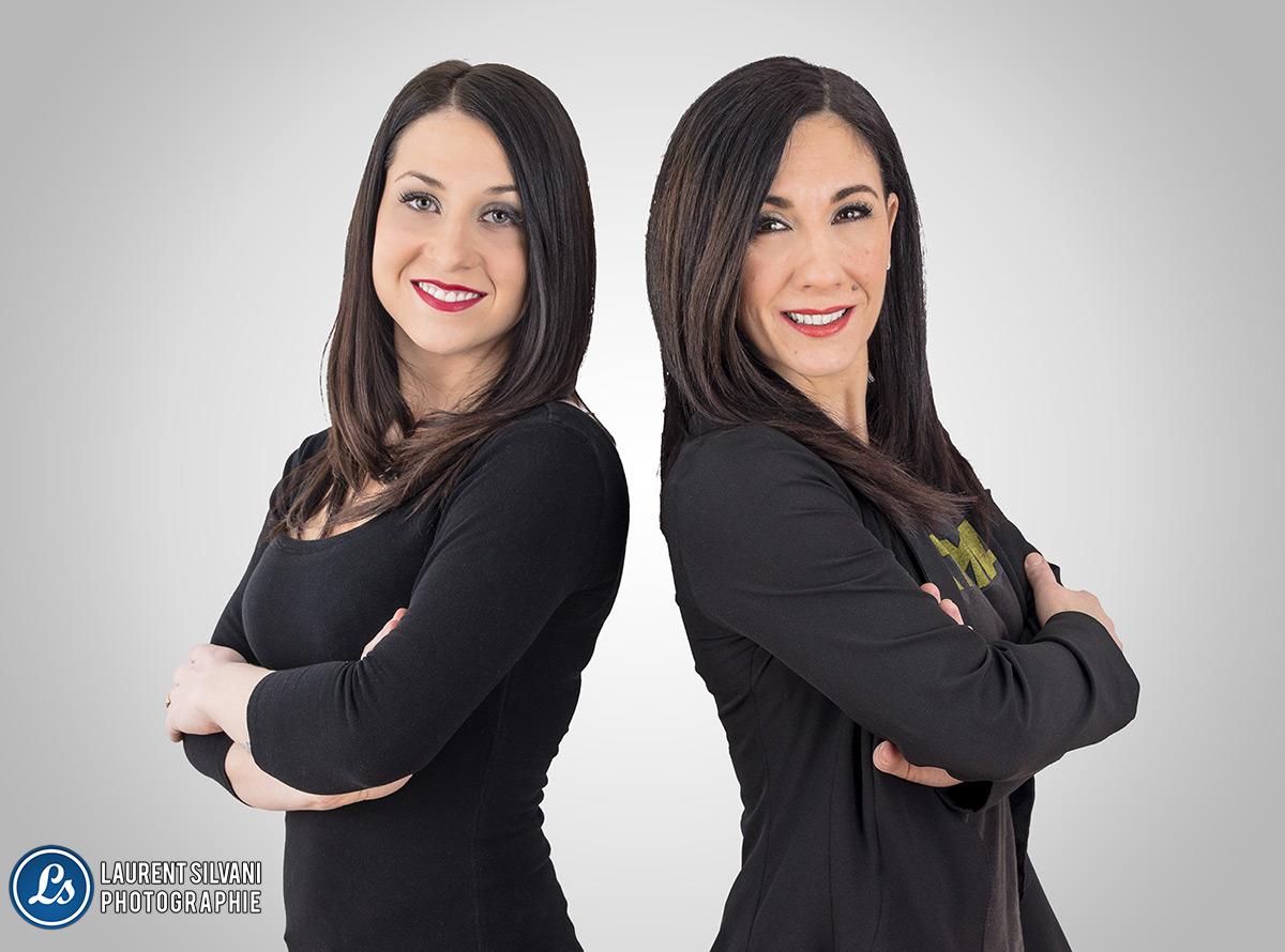 Portrait corporatif pour Clinique d'esthétique R & M