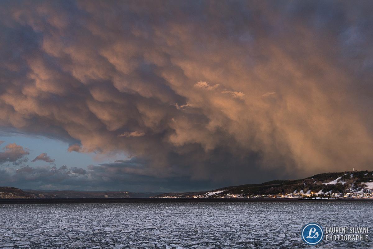 Orage du 24 décembre au Saguenay