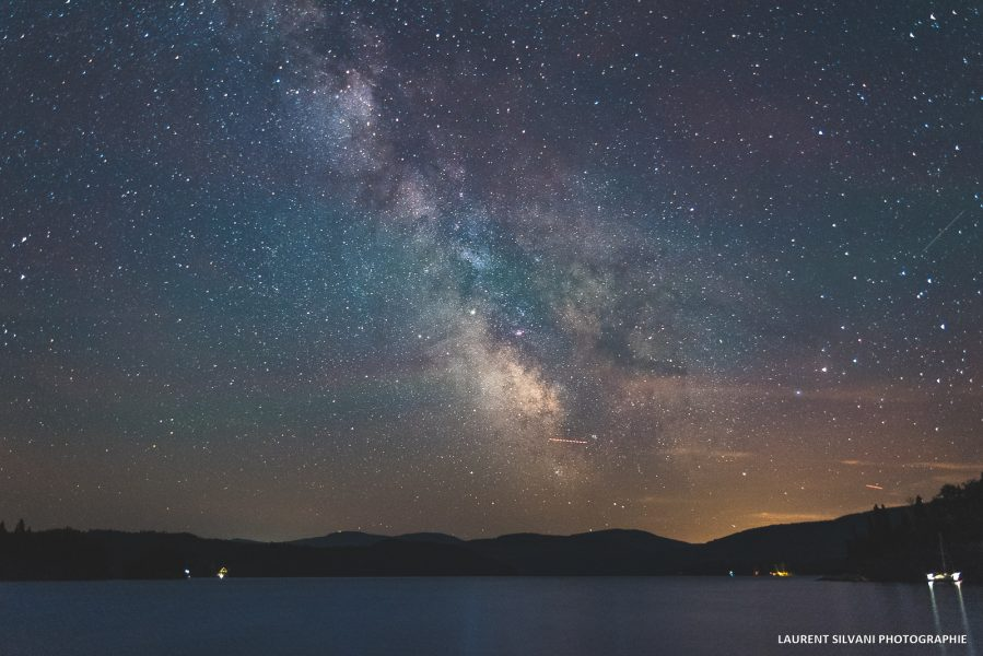 La voie lactée sous le ciel saguenéen