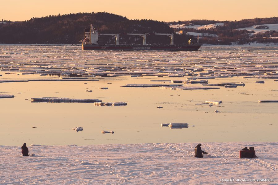La Baie en hiver