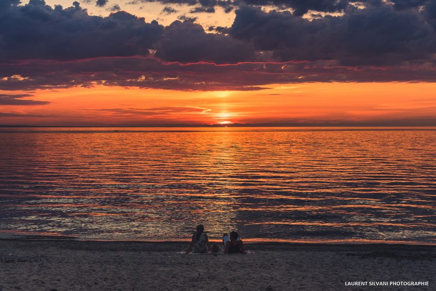 Coucher de soleil sur le Lac St-Jean