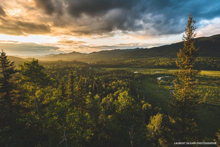 Le Mirador dans le parc national des Monts-Valin