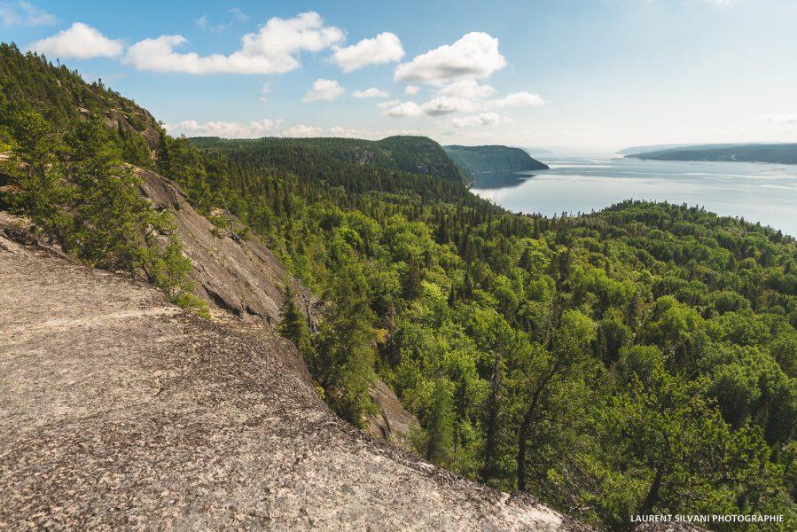 Paysage de La Baie et du fjord