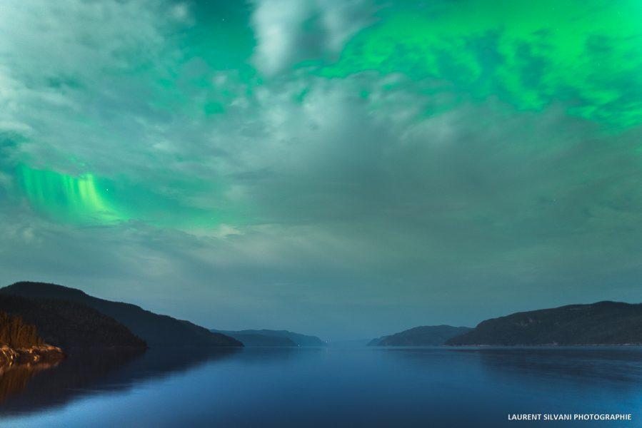 Petit-Saguenay, le fjord et les aurores boréales