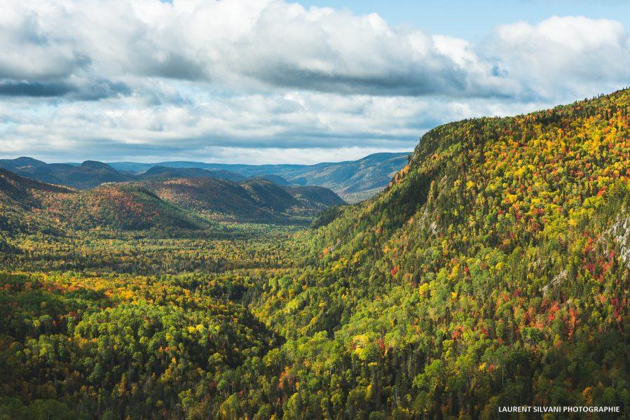 Paysage d'automne à Petit-Saguenay