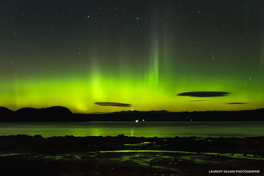 Les aurores boréales du Saguenay