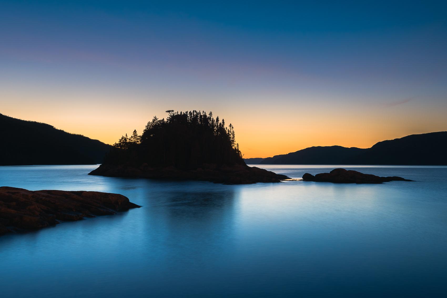 Petit Saguenay et le fjord